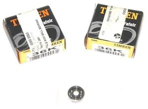 high temperature LOT OF 2  TIMKEN 36K RADIAL BALL BEARINGS