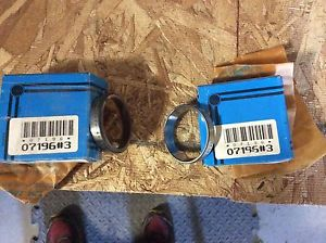high temperature 2-Timken ball roll bearings, NOS, #07196#3, 30day warranty, free shipping