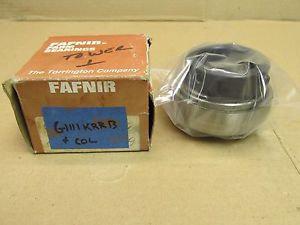 "high temperature NIB FAFNIR G1111KRRB + COL BEARING INSERT w/ COLLAR G1111 KRRB 1-11/16"" BORE"