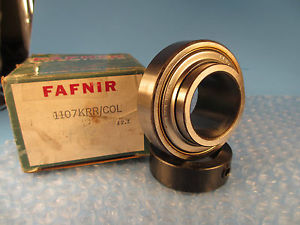 high temperature Fafnir 1107KRR, 1107KRR COL, 1107 KRR,  Wide Inner Ring Ball Bearing
