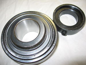 "high temperature Fafnir 1104KRRS Sealed Insert Bearing with Collar 1-1/4"" Bore"