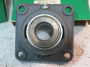 "high temperature FAFNIR RCJ-1-1/4, 4-BOLT FLANGE MOUNT BEARING, 1-1/4"" BORE ( IN BOX)"