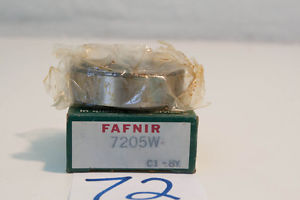 "high temperature ""  OLD"" FAFNIR  Thrust Angular Contact Ball Bearing  7205W   (3 Available)"