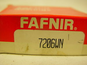 high temperature Fafnir Torrington 7206WN Angular Contact Ball Bearing