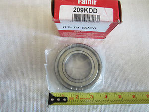 High Temperature Fafnir 209kdd Bearing