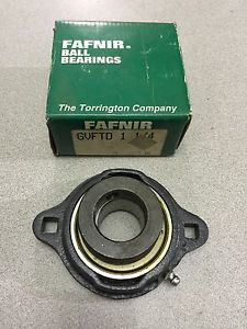high temperature  IN BOX FAFNIR 2-BOLT FLANGE BEARING 1-1/4 BORE GVFTD 1 1/4