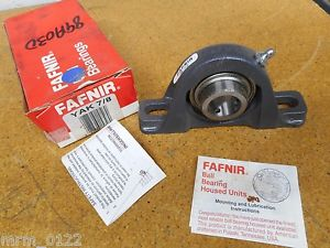 high temperature Fafnir YAK 7/8 Pillow Block Ball Bearing New