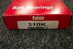 high temperature FAFNIR TORRINGTON  310K BALL BEARING  CONDITION IN BOX