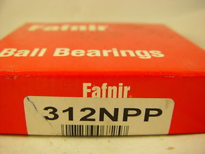 high temperature Fafnir Torrington 312NPP Ball Bearing