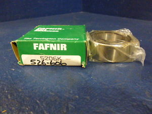 high temperature Fafnir 5206K Double Row Ball Bearing Made In The USA