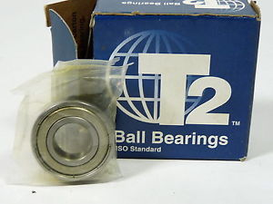high temperature T2 Torrington R8-2Z Shielded Ball Bearing 1/2 x 1-1/8 x 5/16