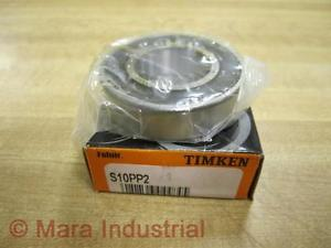 high temperature Timken S10PP2 Ball Bearing (Pack of 3)