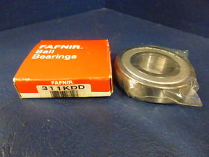 high temperature Fafnir 311KDD Z16 FS50000 Doubled Shielded Ball Bearing Made In The USA