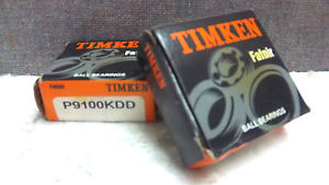 high temperature LOT OF 2 TIMKEN BALL BEARINGS P9100KDD  P9100KDD
