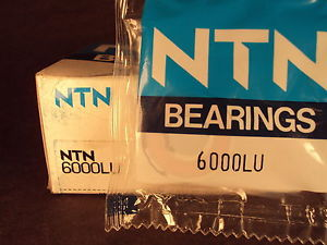 high temperature NTN 6000LU, 6000 LU, Single Row Radial Ball Bearing
