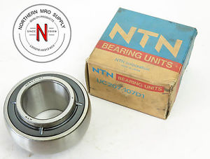 "high temperature NTN UC207-107D1 BALL BEARING INSERT, 1.4375"" (1-7/16"") BORE, SET SCREW COLLAR"