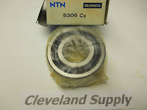 high temperature NTN 5306C3 DOUBLE ROW BALL BEARING  CONDITION IN BOX