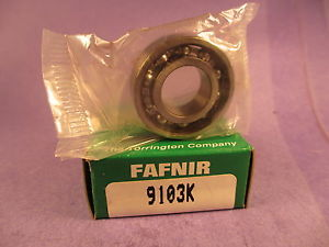 high temperature Fafnir  9103K, 9103 K, Single Row Radial Bearing