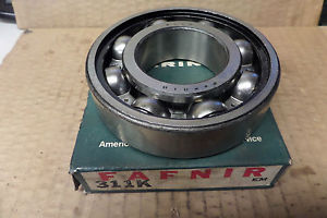 high temperature Fafnir Radial Ball Bearing 311K New