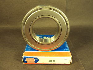 high temperature SKF 212 2Z, Single Row Radial Bearing (Fafnir 212KDD, NSK 6212 ZZ, NTN)