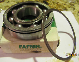 high temperature Fafnir Torrington Single Groove Ball Bearing w/ Snap Ring 308KDGN 308KDG New