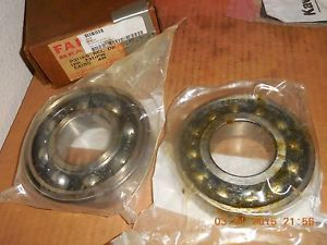 high temperature FAFNIR 7311PW  and  P311KS REL DB BEARINGS  E4150  4W COMPLETE 1PR **LAST ONE