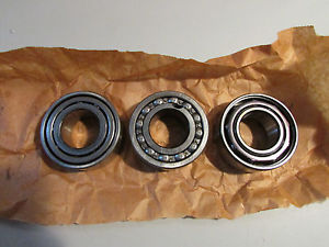 high temperature SKF 5207 + MRC 5207K + Fafnir 5207K Bearings Lot of 3!