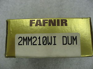 high temperature  FAFNIR 2MM210WIDUM Bearing