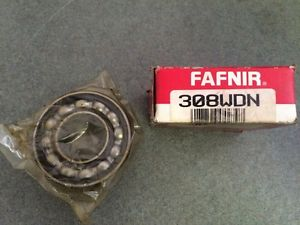 high temperature NIB FAFNIR 308WDN BEARING