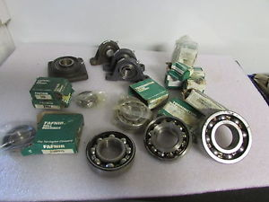 high temperature Fafnir-Torrington Flange Collar-Link Belt-Pillow Block Bearings Mixed Lot of 23