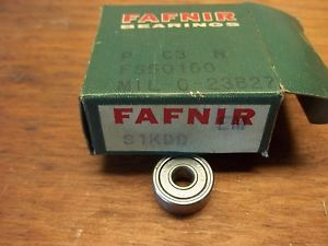 high temperature  FAFNIR S1KDD  BEARING