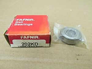 high temperature 1 NIB FAFNIR 202KD 202 KD BALL BEARING METAL SHIELDED ONE SIDE 202KDD