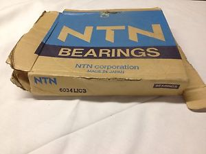 high temperature 6034L1C3 NTN New Single Row Ball Bearing