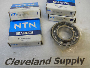 high temperature NTN 6205ZC3 BALL BEARINGS ( SET OF 4 )  CONDITION IN BOX