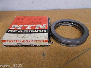 high temperature NTN 51118 Thrust Ball Bearing 90mm ID 120mm OD New