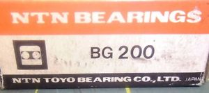 high temperature NTN BG200 BALL BEARING 10 X 30 X 14.3 #J52531