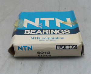 high temperature New OLD STOCK NTN Ball Bearing, 6012 01-08, NIB, Warranty