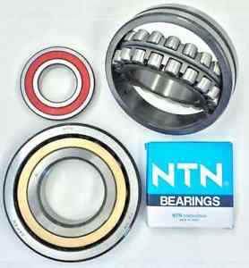 high temperature NTN 6302LLB DOUBLED SEALED Deep Groove Single Row Ball Bearing New!