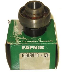 "high temperature  Fafnir G1012KLLB+COL Collar Ball Bearing 3/4"" Bore   ***"