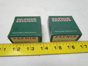 high temperature Fafnir 9101KDD Sealed Roller Bearing Lot of 2