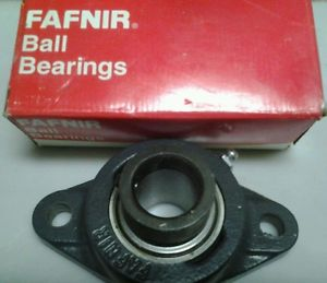 "high temperature FAFNIR (RCJT 1)2 Bolt Flange mounted ball bearing/pillow block.   1"" bore"
