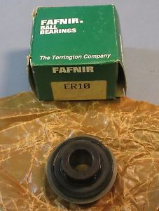 "high temperature Fafnir ER10 Sealed Single Row Wide Inner Ring Bearing Insert 5/8"" ID NOS"