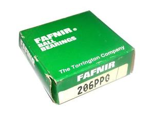 high temperature BRAND  IN BOX FAFNIR RADIAL SINGLE ROW BALL BEARING 206PPG (5 AVAIL)