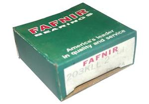 high temperature BRAND  IN BOX FAFNIR BALL BEARING 203KLL 2 (6 AVAIL)