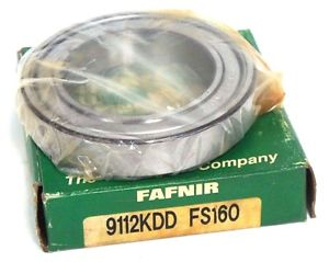 high temperature NIB FAFNIR 9112KDD DEEP GROOVE BALL BEARING 9112KDD FS160