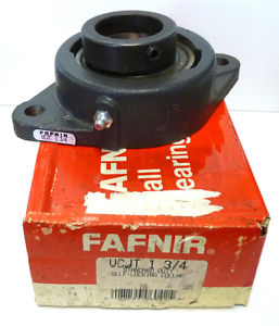 high temperature Fafnir VCJT 1-3/4 Standard Duty Self-Locking Collar 2-Bolt Flange Bearing