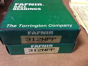 high temperature 2-FAFNIR  Bearings# 312NPP ,Free shipping to lower 48, 30 day warranty