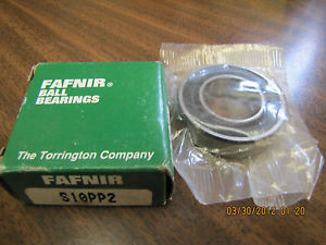 high temperature  FAFNIR SINGLE ROW RADIAL BALL BEARING S10PP2
