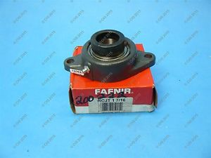"high temperature Fafnir RCJT 1 7/16 Flange Mounted Bearing 1 7/16"" Bore 2 Bolt NOS"