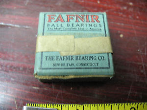 high temperature FAFNIR BALL  BEARING (1)  S 1 K    BRITAIN  CONN. VINT ORIG. MIB SEALED